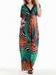 Short Sleeve Viscose Resort Maxi Dress