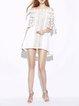 Off Shoulder Half Sleeve Cocktail A-line Mini Dress