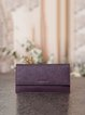 Purple Casual Mini Wallet