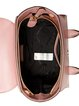 Pink Small Cowhide Leather Top Handle