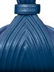 Royal Blue Small Casual Calfskin Leather Top Handle