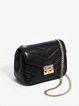 Black Mini Leather Crossbody