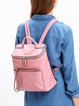 Small Casual Zipper Backpack