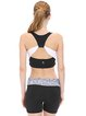 Black Stretchy Breathable Quick Dry Sports Bra (Sportswear for Fitness)