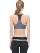 Gray Quick Dry Stretchy Sports Bra (Sportswear for Pilates)