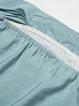H-line Short Sleeve Pockets Girly Off Shoulder Mini Dress