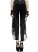Black Plain Street Forktail Skinny Leg Pant