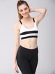 Black Breathable Slightly Stretchy Sports Bra Sports Bras