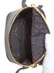 Black Zipper Casual Mini Cube Cowhide Leather Crossbody Bag