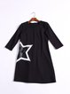 Shift Casual Star Printed Mini Dress