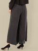 Black Floral Paneled Vintage Wide Leg Pants