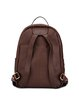 Coffee Medium Cowhide Leather Backpack