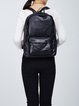 Zipper Medium Casual Cowhide Leather Backpack
