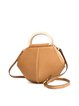 Cowhide Leather Casual Magnetic Small Shoulder Bag