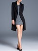 Asymmetrical Elegant Long Sleeve Coat