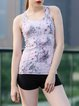 Pink Quick Dry Stretchy Breathable Top Tank