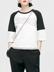 Embroidered Paneled Top