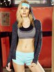 Black Cut-out Wicking Stretchy Hoodie  (Sportswear for Fitness)