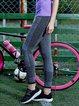 Gray Breathable Natural Leggings Bottom (Sportswear for Running)