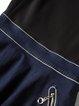 Black Zipper Crew Neck Girly Paneled Sleeveless Mini Dress