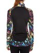 Multicolor Stretchy Wicking Paneled Zipper Jacket