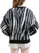 Abstract Casual H-line Knitted Long Sleeve Cardigan