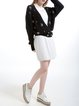 Long Sleeve Casual Plain Knitted Cardigan