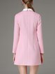Pink Pockets Solid Girly Mini Dress