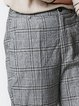 Gray Vintage Checkered Pockets Overall