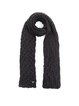 Plain Knitted Elegant Scarf