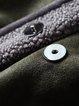 Pockets Lapel Elegant Faux Fur And Shearling Coat