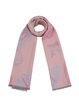 Pink Butterflies Printed Girly Scarf