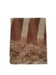 Brown Haze Pleated Elegant Scarf