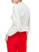 Plain Girly Flounce Long Sleeved Top