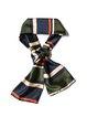 Multicolor Color Block Casual Stripes Scarf