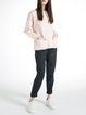 Pockets Plain Girly Pockets H-line Sweater