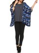 Tribal Casual Batwing Polyester Tunic