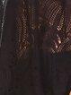 Black Pierced Short Sleeve Tunic