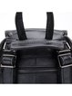 Solid Casual Zipper Full-grain Leather Backpack