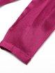 Buttoned Plain H-line 3/4 Sleeve Blouse