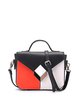 Casual Color-block Magnetic Top Handle