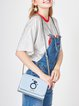 Blue Sweet Magnetic Crossbody Bag