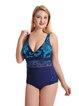Green Wireless Straped One-Pieces