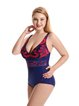 Red Nylon Straped Wireless One-Pieces