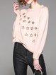 Geometric Long Sleeve Casual Sweater