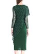 Midi Dress Asymmetrical Elegant Asymmetric Dress