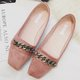 Suede Daily Chain Flats