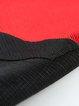 Two Piece Half Sleeve Color-block Jumpsuit