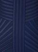 Blue Sleeveless Sheath Mini Dress