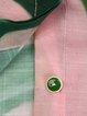 Pink Abstract Printed Shorts Sleeve Blouse